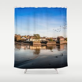Harbor of Kinsale Shower Curtain