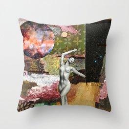 Even Venus Got Her Heart Broken At Times Throw Pillow