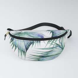 Floating Palm Leaves IV Fanny Pack