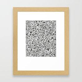 Fish or Phallus?  Framed Art Print