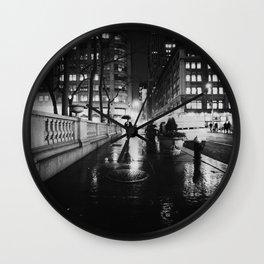 New York City Noir Wall Clock