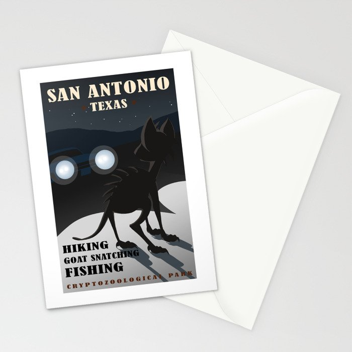 CPS: San Antonio, TX Stationery Cards by meganhillustrations