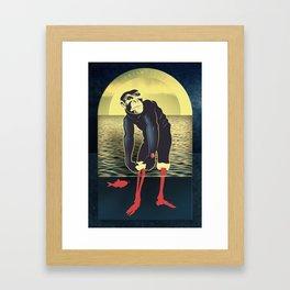 Triumph Of Foresight Framed Art Print