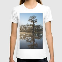 Texas Swamp in the morning T-shirt
