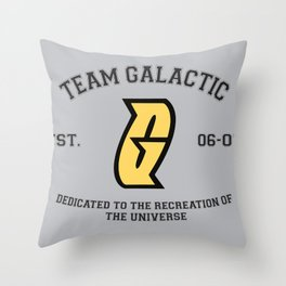 Team Galactic Throw Pillow
