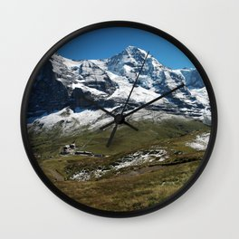 Jungfrau, Eiger and Mönch Wall Clock