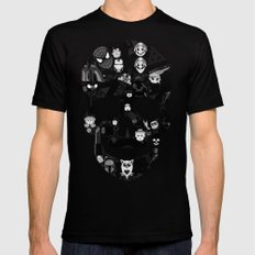 My Skull SMALL Mens Fitted Tee Black