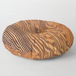 Wood texture III Floor Pillow