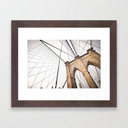 Brooklyn Bridge I Framed Art Print