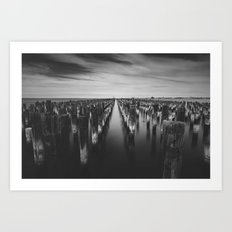 Port Melbourne Art Print