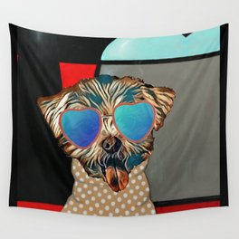 Doggie Time Wall Tapestry