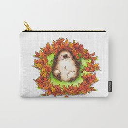 Fall Hedgie 3 Carry-All Pouch