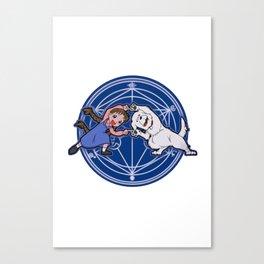 Fullmetal Fusion Ha! Canvas Print