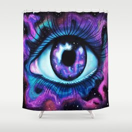 We Are All Made Of Stardust Shower Curtain