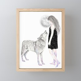 Shining Star Framed Mini Art Print