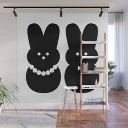 peeps got married Wall Mural