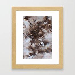 Tempestades Framed Art Print
