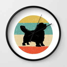 Clumber Spaniel Dog Gift design Wall Clock