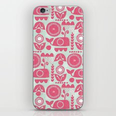 folk whale iPhone & iPod Skin