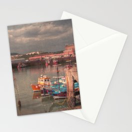 Harbour of Scarborough Stationery Cards