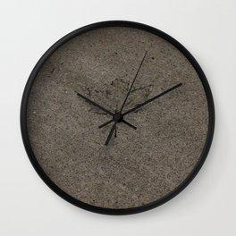 Cemented leaf Wall Clock