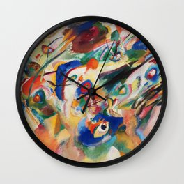 Kandinsky Sketch 2 for Composition 7 Wall Clock