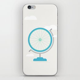 Bike Globe iPhone Skin
