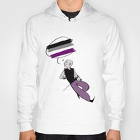 asexual Hoodies featuring Asexual Pride by Error