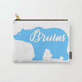 Blue Bruins Bear Carry-All Pouch
