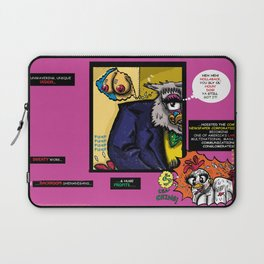 Bird of Steel Comix - Page #4 of 8 (Society 6 POP-ART COLLECTION SERIES)  Laptop Sleeve