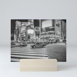 Shibuya Crossing Mini Art Print