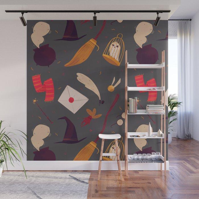 Magic Pattern Wall Mural
