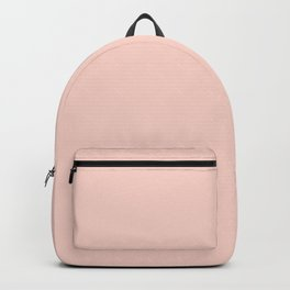 Peach Color Backpack