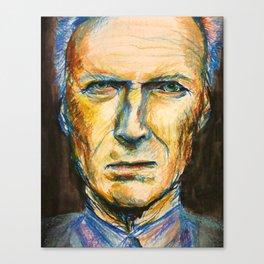 Pastel Eastwood Canvas Print