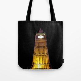 Big Ben – Paint & Poster Effect Tote Bag