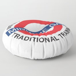 MIND THE GAP - INSTINCTIVE ARCHERY TRADITIONAL TRAINING Floor Pillow