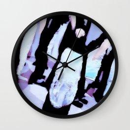 Penguin Installation Wall Clock