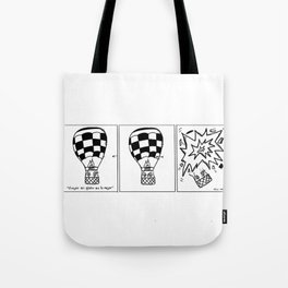 Viaje en globo Tote Bag