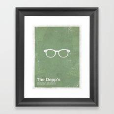Framework - The Depp's Framed Art Print