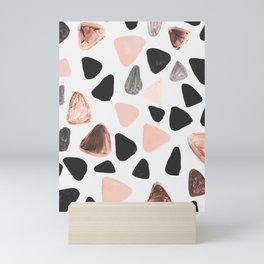 Rounded Triangles Mini Art Print