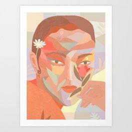 From m window Art Print