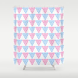 Abstraction from Cardium pottery 2 -abstraction,abstract,cardial,cardium pottery Shower Curtain
