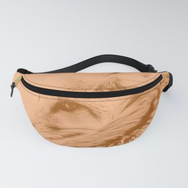 red fox digital acryl painting acrcb Fanny Pack