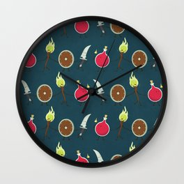 Let's All Go On an Adventure Wall Clock