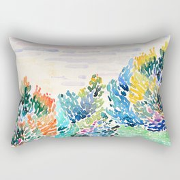 Spring arrived Rectangular Pillow