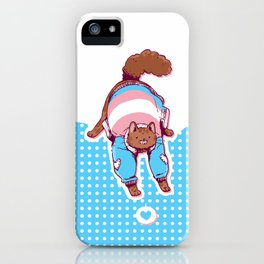 Pride Cats - Transgender Pride iPhone Case