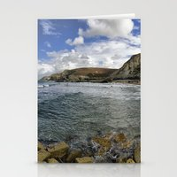 agnes Stationery Cards featuring St Agnes by Mark Nelson