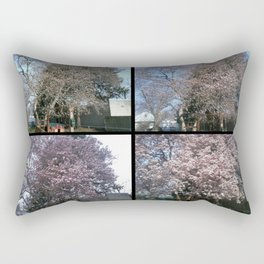 Tree Blossoms Rectangular Pillow