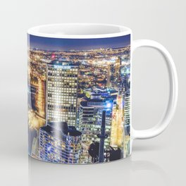 Voyeuristic 1719 Vancouver Cityscape Space Craft - Waterfront Convention Center Gastown BC Canada Coffee Mug