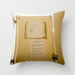 Civil Service Throw Pillow